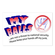 My Balls Postcards (Package of 8)