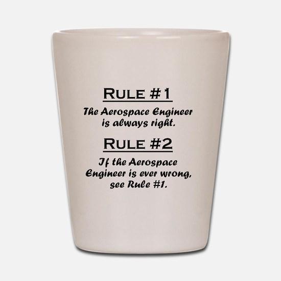 Rule Aerospace Engineer Shot Glass