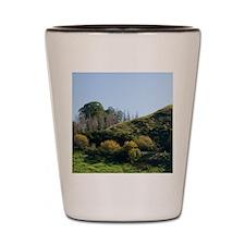 Autumn Colour and Farmland, Wanganui -  Shot Glass