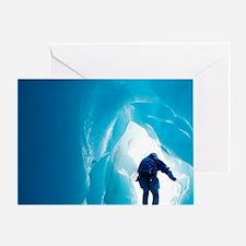 Franz Josef Glacier Greeting Card