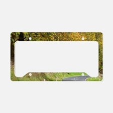 Autumn Colour and Road, Tokir License Plate Holder