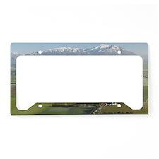 New Zealand - aerialr Methven License Plate Holder