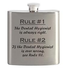 Rule Dental Hygienist Flask