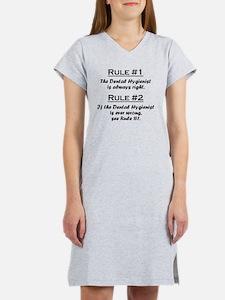 Rule Dental Hygienist Women's Nightshirt