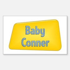 Baby Conner Rectangle Decal