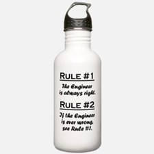Rule Engineer Sports Water Bottle