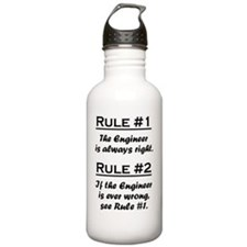 Rule Engineer Water Bottle