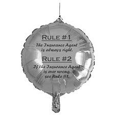 Rule Insurance Agent Balloon