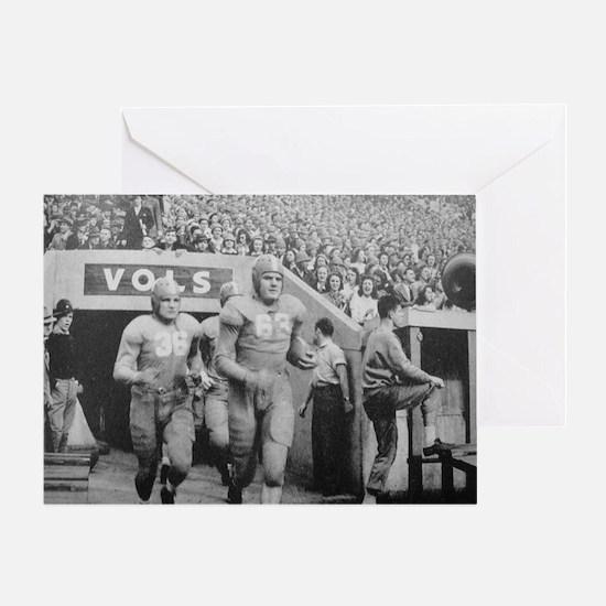 Vintage Tennessee Vols Greeting Card