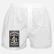ALCATRAZ ISLAND BADGUYS STICKER Boxer Shorts