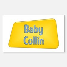 Baby Collin Rectangle Decal