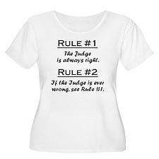 Rule Judge T-Shirt