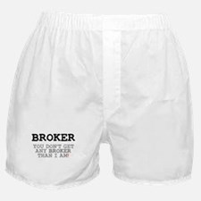 BROKER! Boxer Shorts