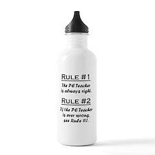 Rule PE Teacher Water Bottle