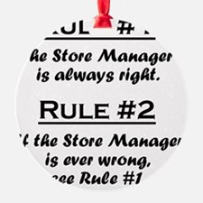 Rule Store Manager Ornament