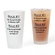 Rule Social Worker Drinking Glass