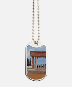 Infamous gateway of slavery. UNESCO Slave Dog Tags