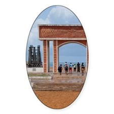 Infamous gateway of slavery. UNESCO Decal