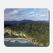 New Zealand - aerialaiki, Paparoa Nation Mousepad