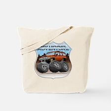 H3_ORANGE_1 Tote Bag
