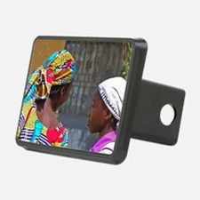 African young girls with c Hitch Cover