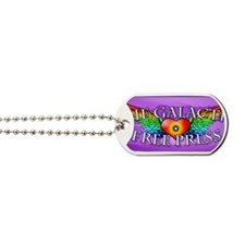 Winged Heart GFP Logo2 Dog Tags