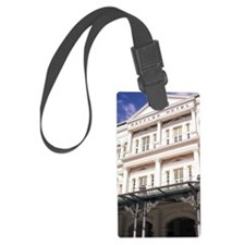 Famous Luxury Raffles Hotel in S Luggage Tag