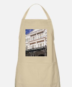 Famous Luxury Raffles Hotel in Singapore, As Apron