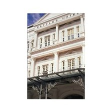 Famous Luxury Raffles Hotel in Si Rectangle Magnet