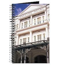 Famous Luxury Raffles Hotel in Singapore,  Journal