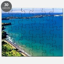 Long Bay, North Auckland - aerial Puzzle