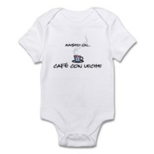 Raised on Café con Leche Infant Bodysuit
