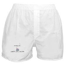 Raised on Café con Leche Boxer Shorts