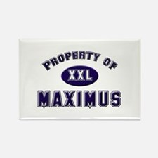 Property of maximus Rectangle Magnet