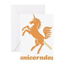 unicorndog Greeting Card