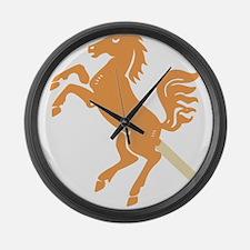 unicorndog Large Wall Clock