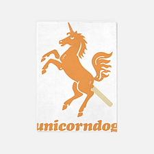 unicorndog 5'x7'Area Rug