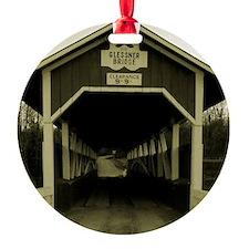 calendar covered bridge Ornament