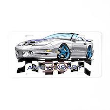 30thAnniv_TransAm Aluminum License Plate