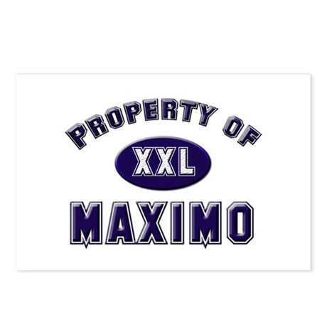 Property of maximo Postcards (Package of 8)