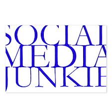 Social Media Junkie.gif Postcards (Package of 8)