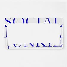 Social Media Junkie.gif License Plate Holder
