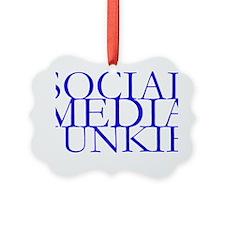 Social Media Junkie.gif Ornament