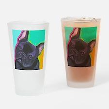 black1 large cafe Drinking Glass