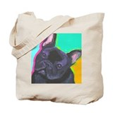 French bulldog Canvas Totes