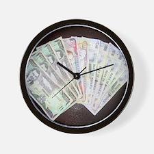 Money Wall Clock