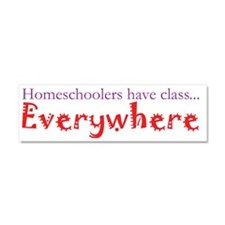 have class wild Car Magnet 10 x 3
