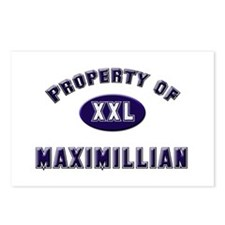 Property of maximillian Postcards (Package of 8)