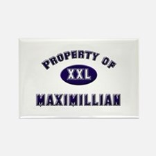 Property of maximillian Rectangle Magnet
