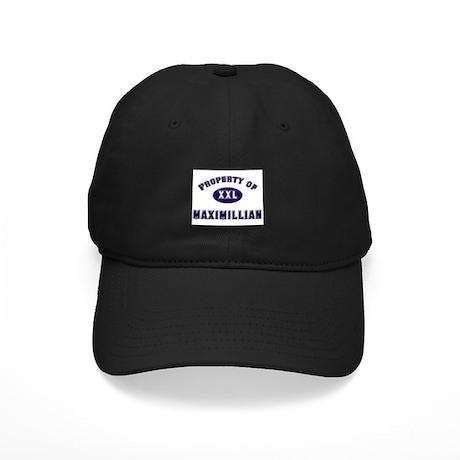 Property of maximillian Black Cap